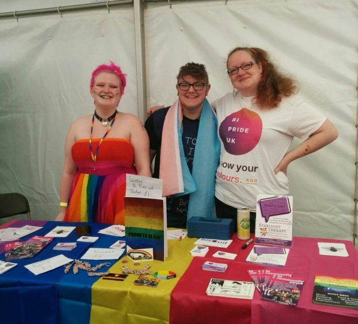 Stall at Essex Pride 2018